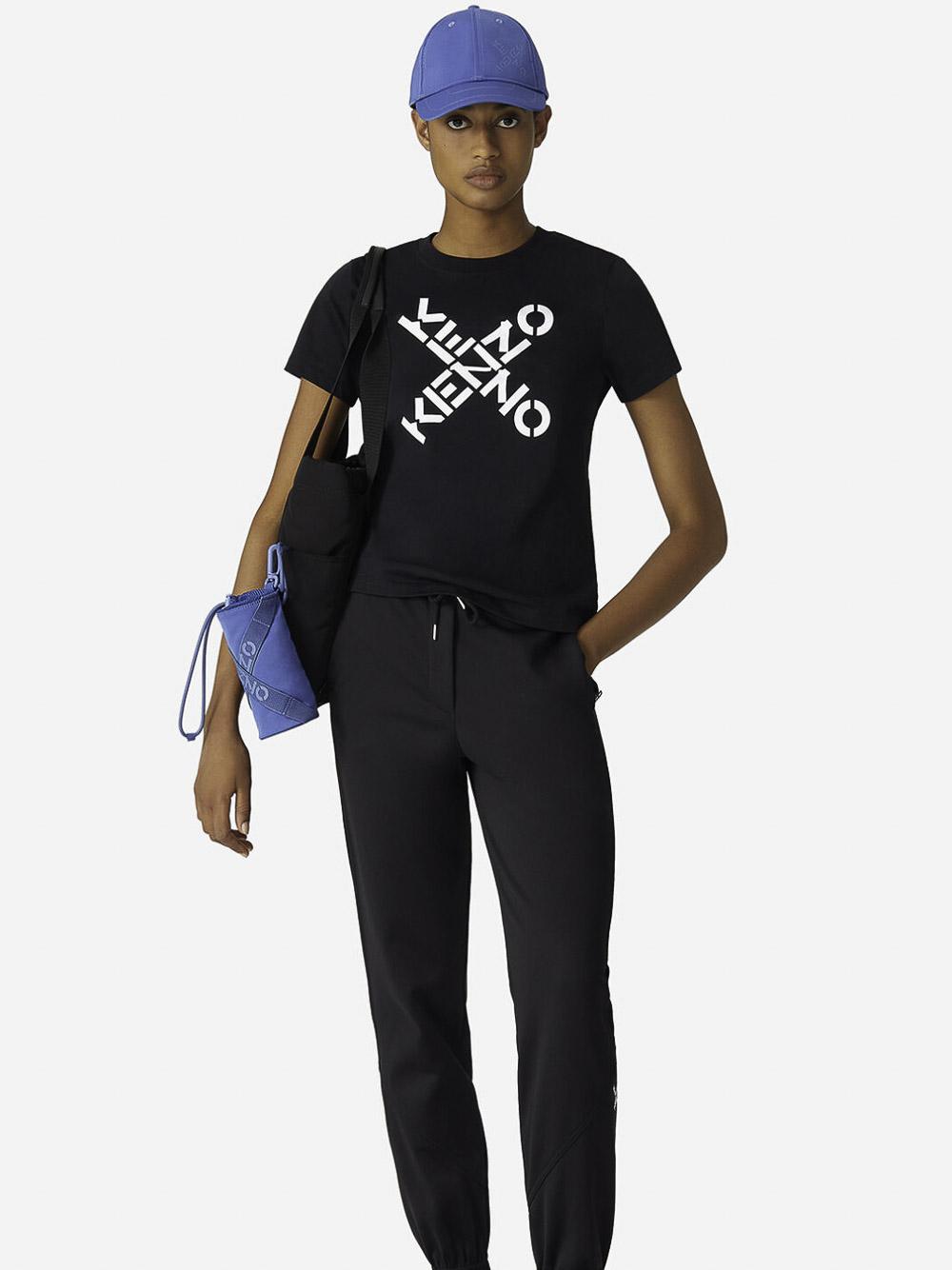 KENZO Μπλούζα t-shirt 2TS8504SJ-99 ΜΑΥΡΟ