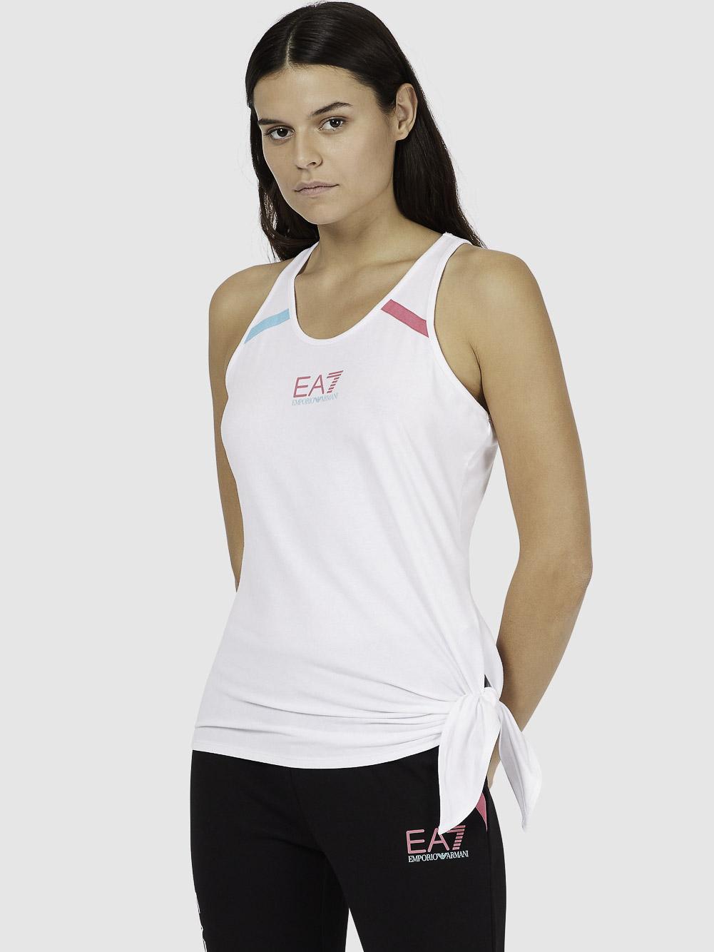 EMPORIO ARMANI Μπλούζα t-shirt 3KTH59TJ5LZ-1100 ΑΣΠΡΟ