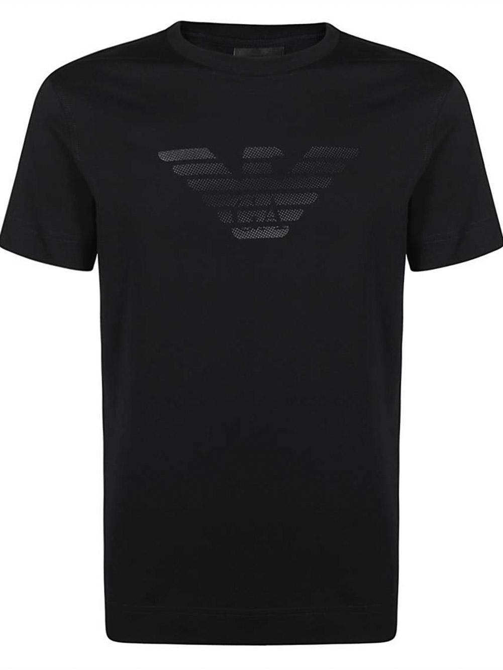 EMPORIO ARMANI Μπλούζα t-shirt 3K1TE61JSHZ-0920 ΜΠΛΕ