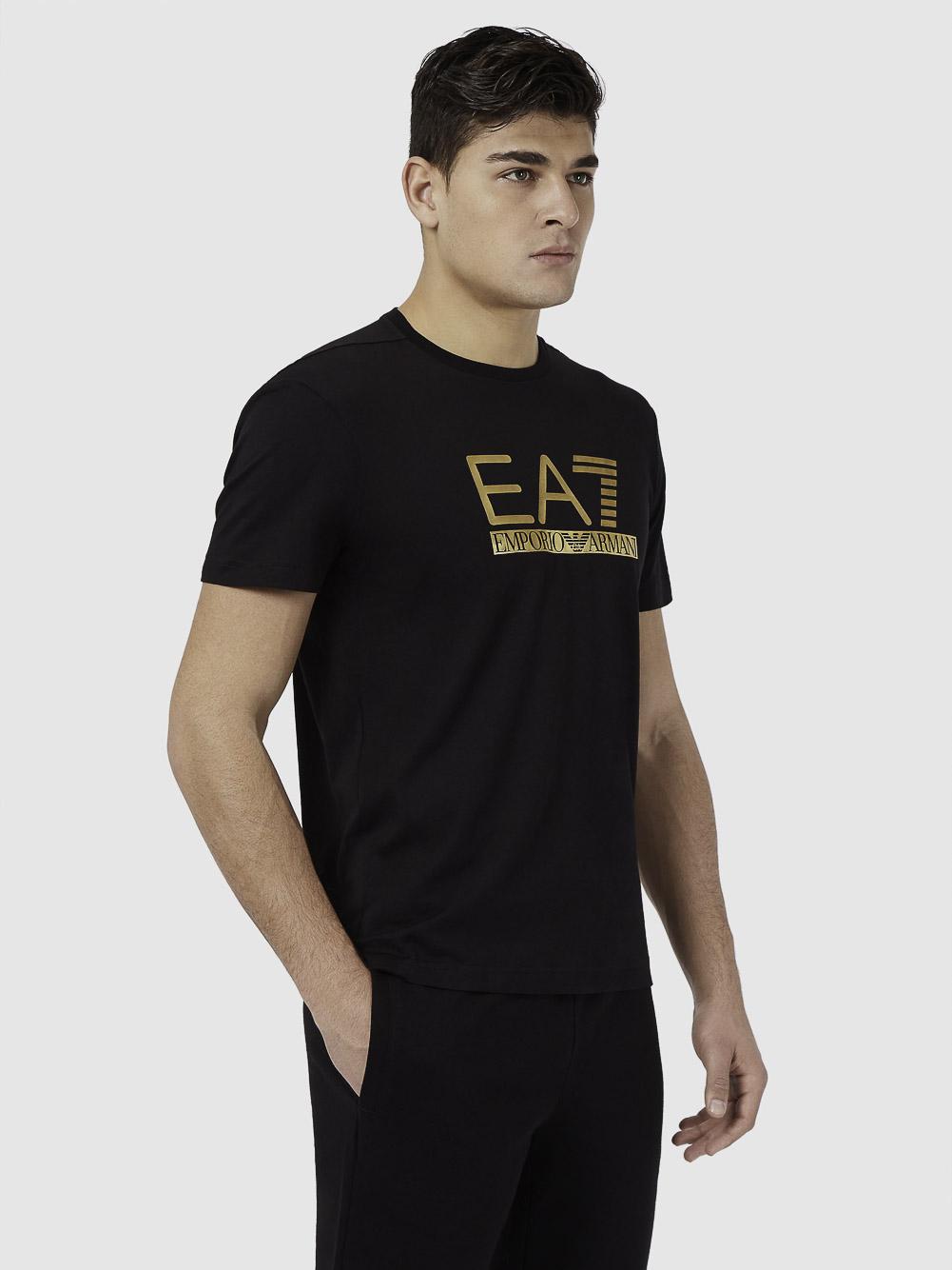 EMPORIO ARMANI Μπλούζα t-shirt 3KPT87PJM9Z-1200 ΜΑΥΡΟ