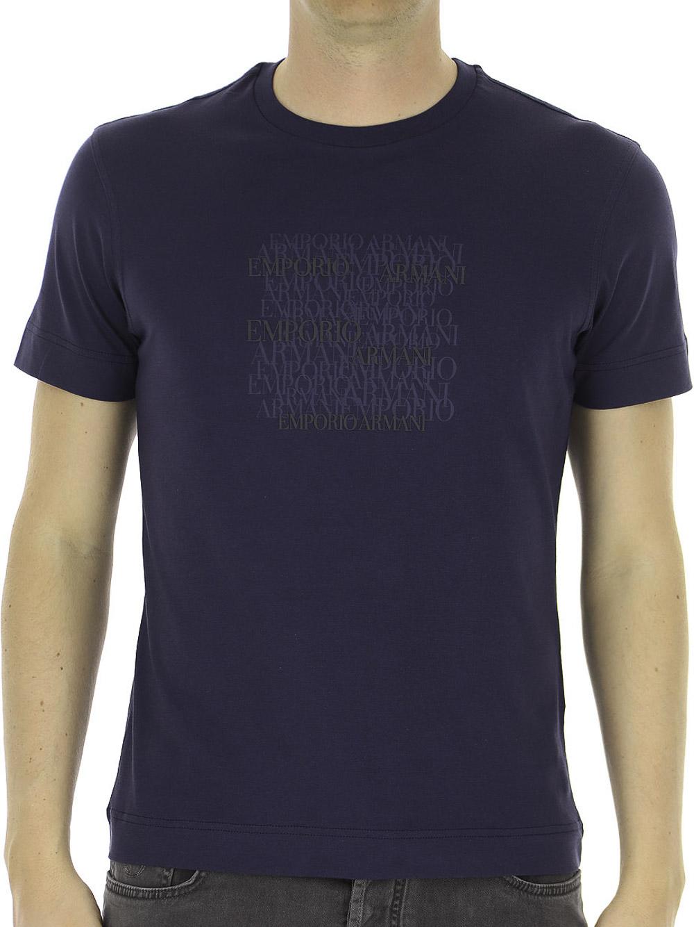 EMPORIO ARMANI Μπλούζα t-shirt 3K1TD61JSHZ-0964 ΡΑΦ