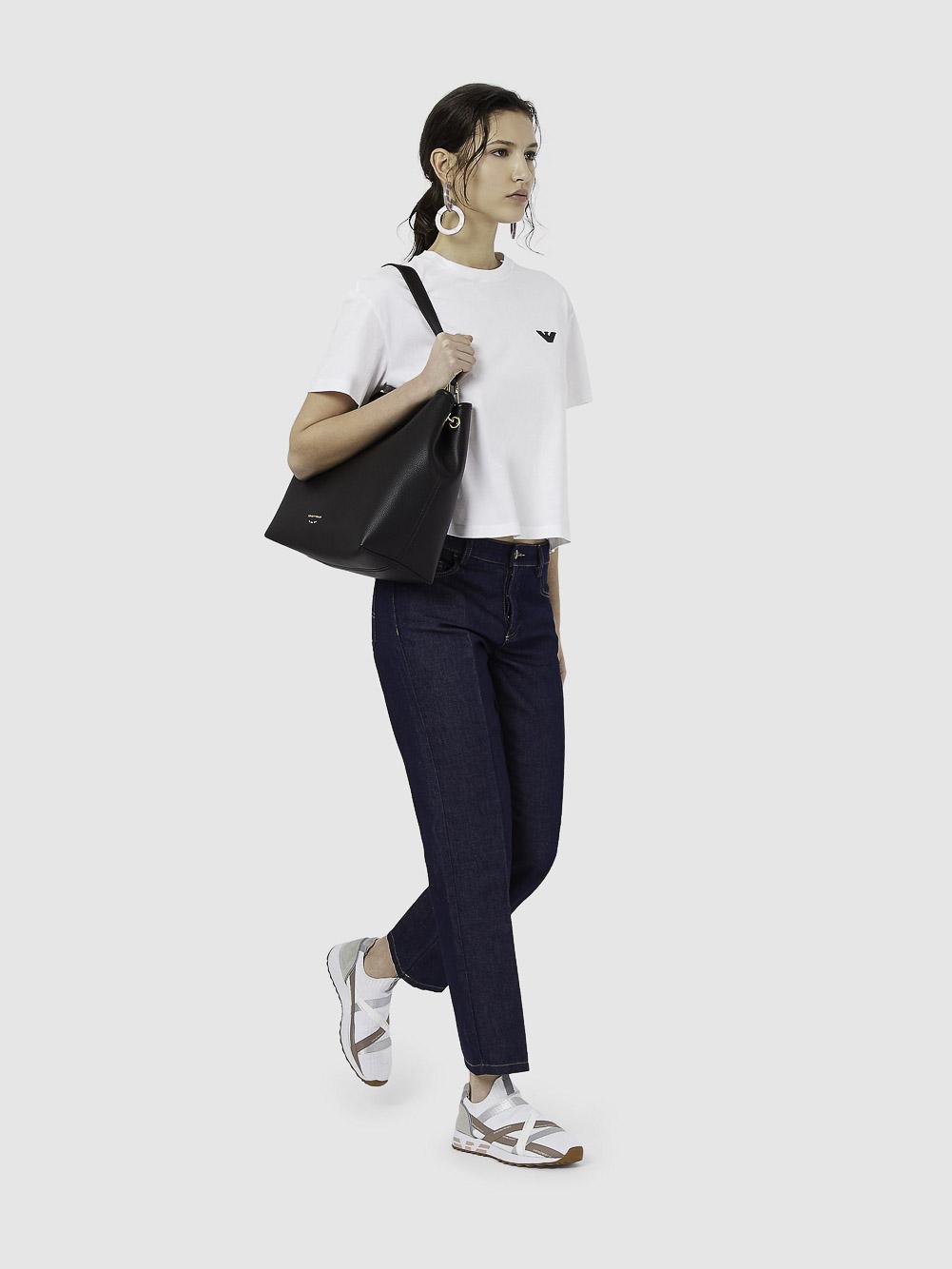 EMPORIO ARMANI Μπλούζα t-shirt 3K2T7X2J53Z-0100 ΛΕΥΚΟ