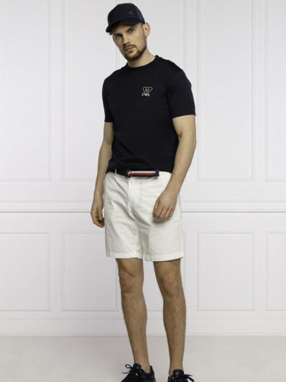 EMPORIO ARMANI Mπλούζα t-shirt 3K1TB91JTUZ-0920 ΜΠΛΕ
