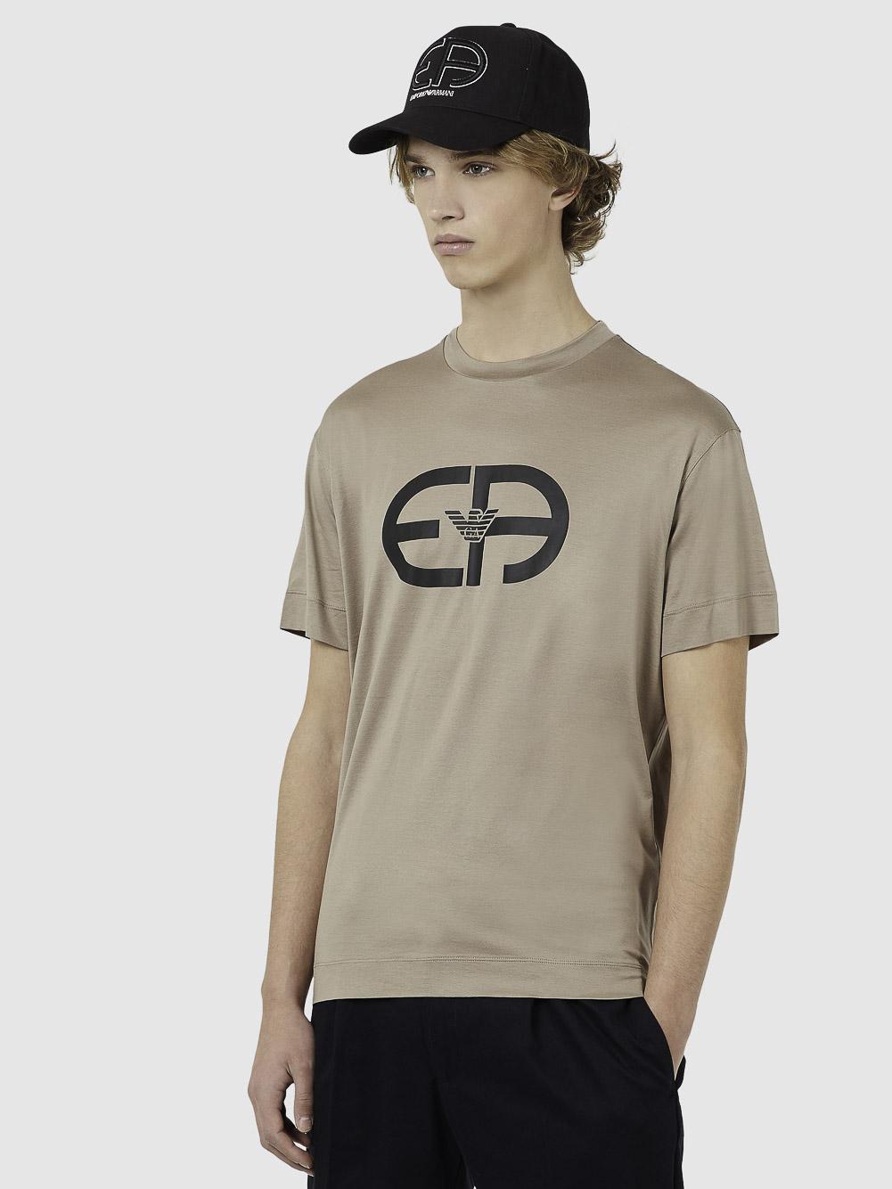 EMPORIO ARMANI Mπλούζα t-shirt 3K1TAD1JUVZ-0151 ΜΠΕΖ