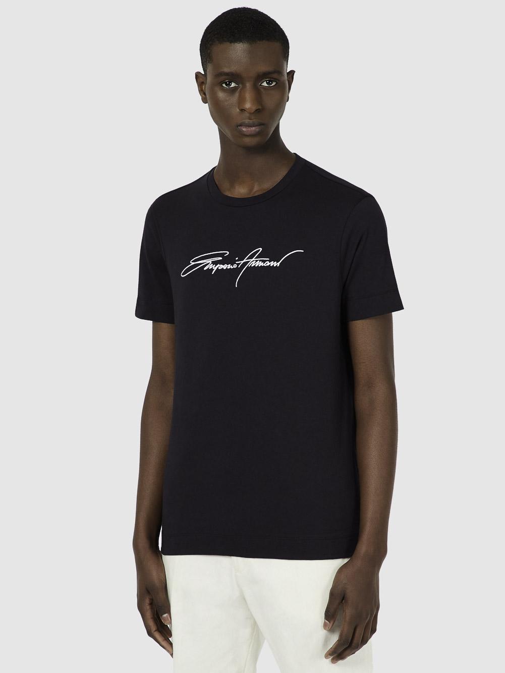 EMPORIO ARMANI Μπλούζα t-shirt 3K1TL61JULZ-0920 ΜΠΛΕ