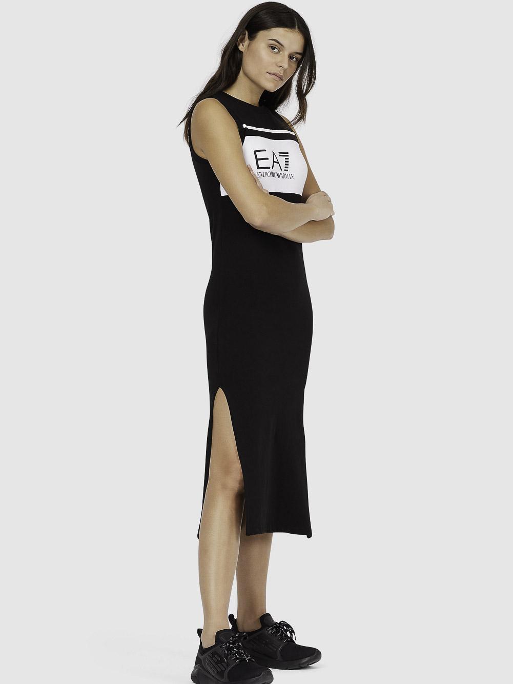 EMPORIO ARMANI Φόρεμα μακρύ 3KTA61TJ31Z-1200 ΜΑΥΡΟ