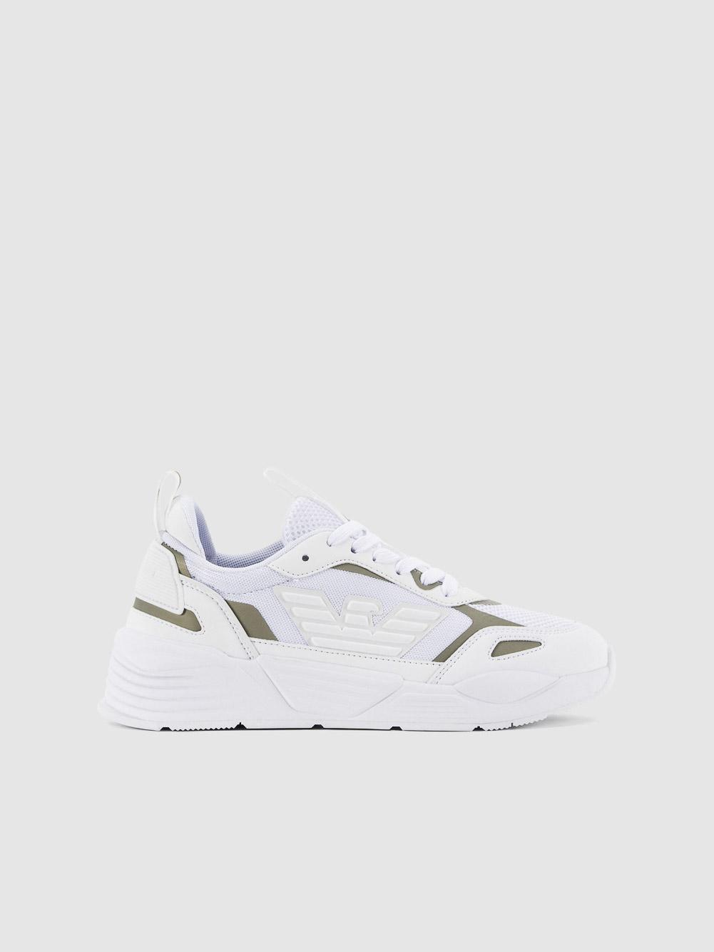 EMPORIO ARMANI Παπούτσια sneakers X3X126XM521-T375 ΛΕΥΚΟ