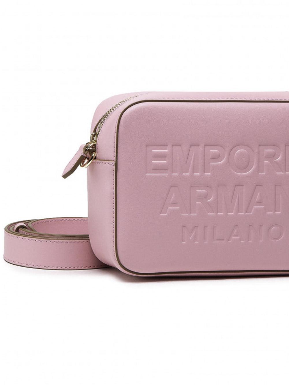 EMPORIO ARMANI Τσάντα γυναικεία Y3B162Y267A-85186 ΡΟΖ