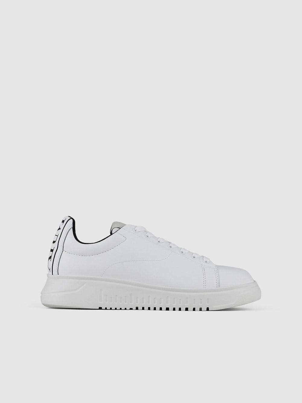 EMPORIO ARMANI Παπούτσια Sneaker X4X312XM747-A222 ΛΕΥΚΟ