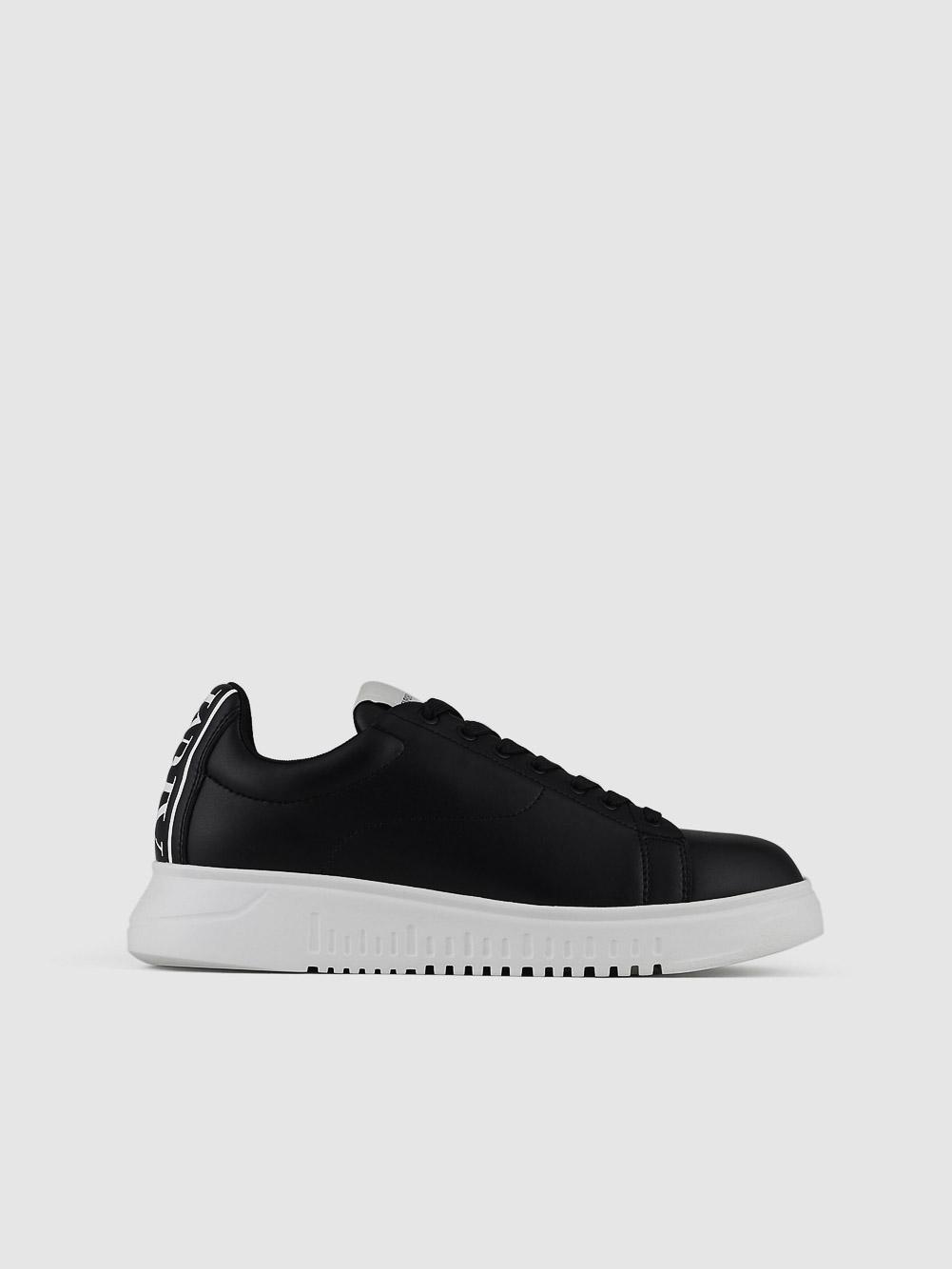 EMPORIO ARMANI Παπούτσια Sneaker X4X312XM747-K001 ΜΑΥΡΟ