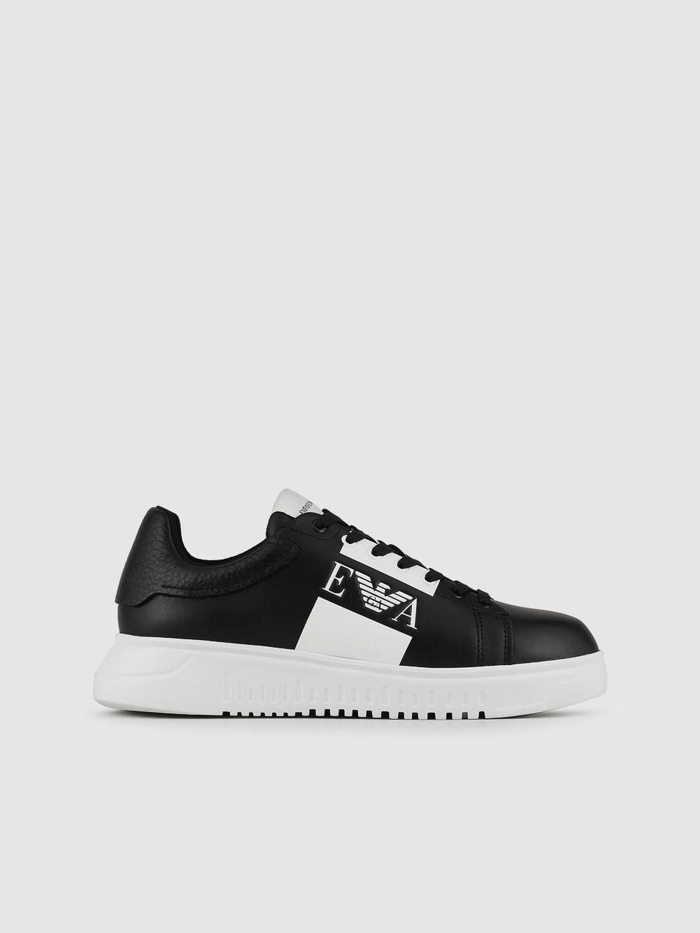 EMPORIO ARMANI Παπούτσια sneakers X4X264XM712-K001 ΜΑΥΡΟ