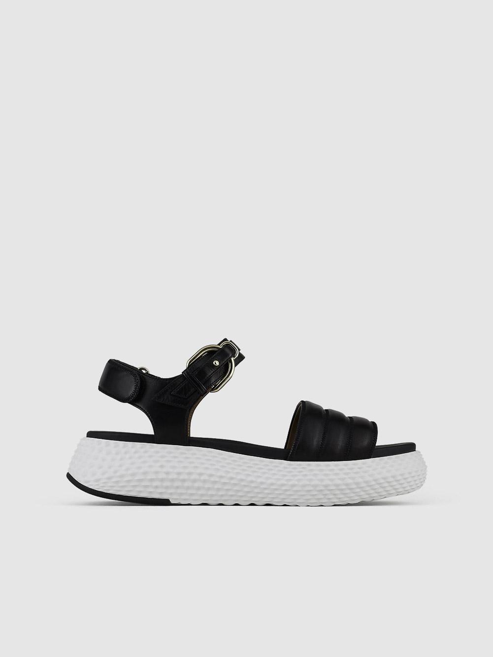 EMPORIO ARMANI Παπούτσια πέδιλα X3U095XL369-A083 ΜΑΥΡΟ