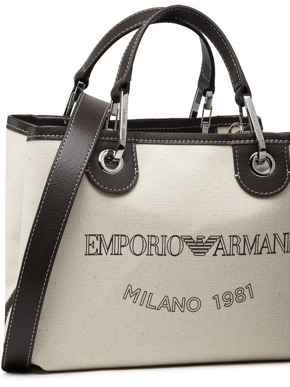 EMPORIO ARMANI Τσάντα χειρός Y3D205Y271E-85179 ΜΠΕΖ