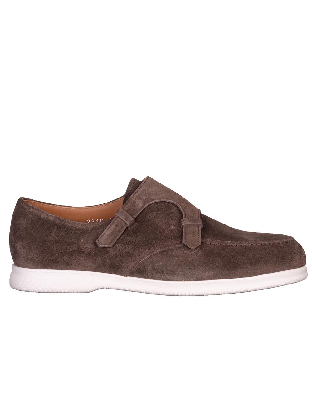 DOUCAL'S Παπούτσια μοκασίνι ARTHUΥ 106IM06 ΚΑΦΕ