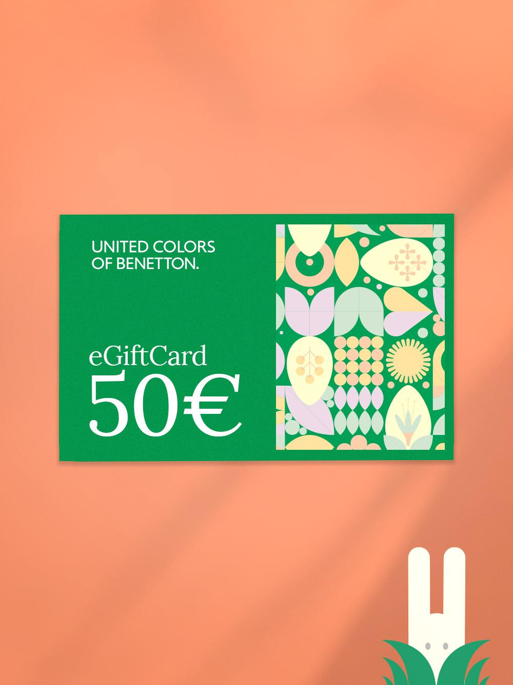 GIFT CARD GIFT CARD benetton 50 € GIFT CARD GIFT