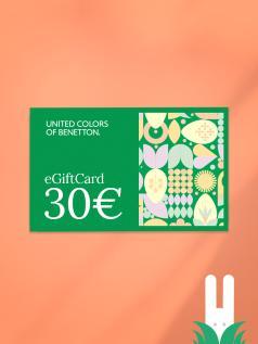 GIFT CARD benetton 30 €