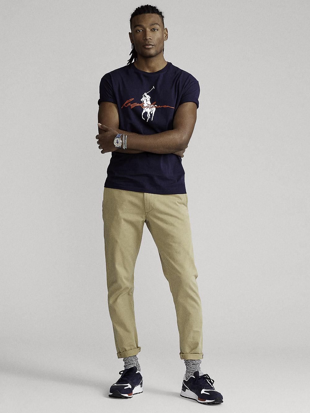 POLO RALPH LAUREN Μπλούζα T-Shirt 710839050002 ΜΠΛΕ
