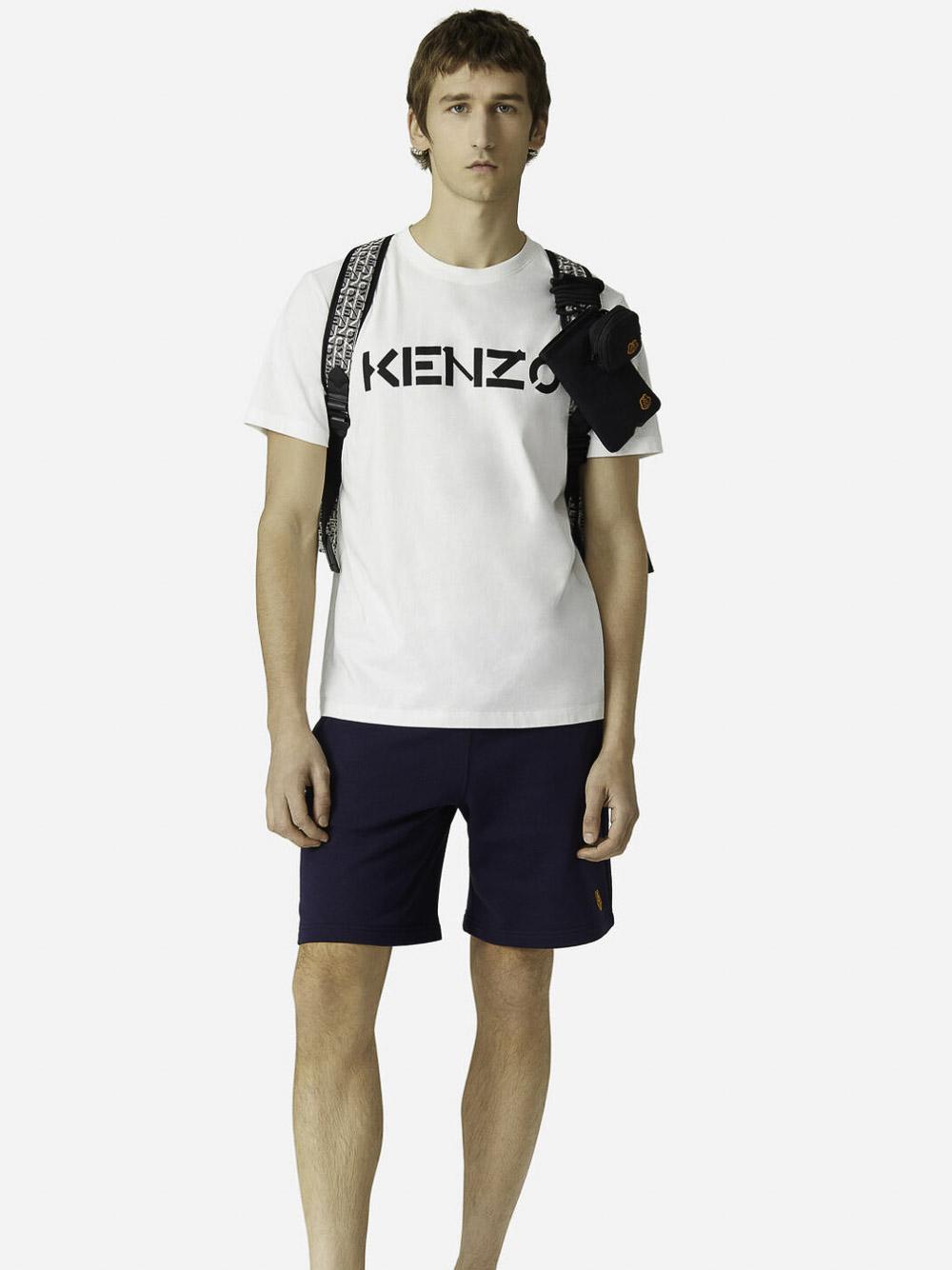 KENZO Μπλούζα t-shirt 5TS0004SJ-01Β ΛΕΥΚΟ