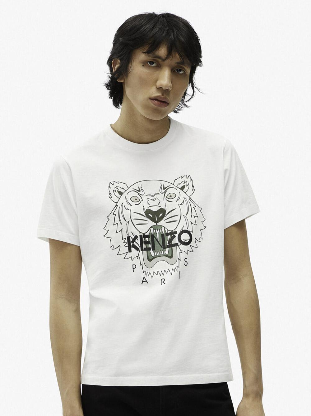 KENZO Μπλούζα t-shirt 5TS0204YA-01Β ΛΕΥΚΟ