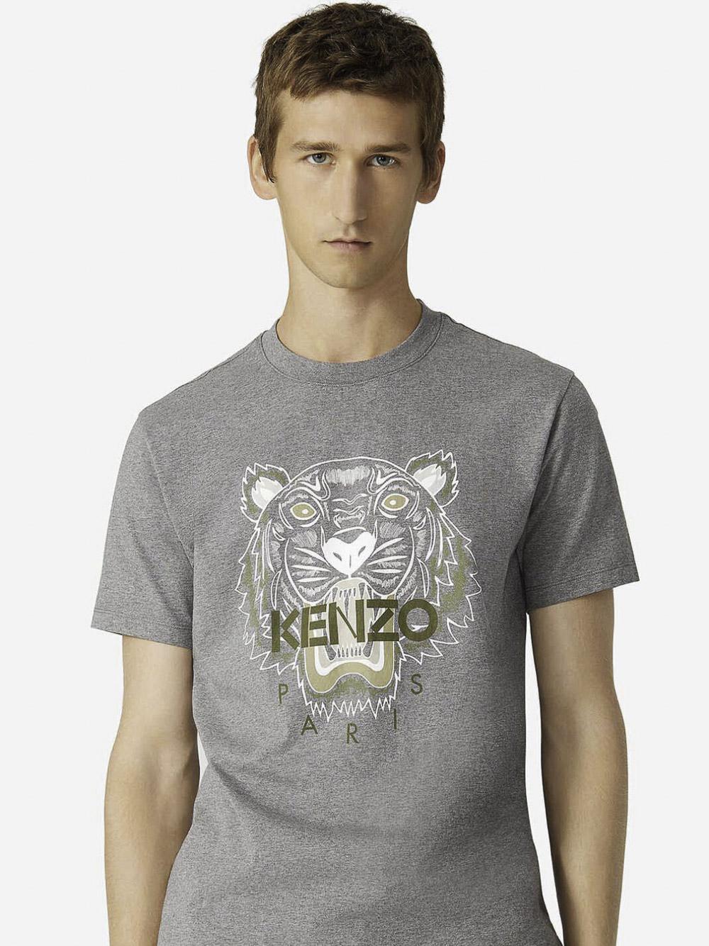 KENZO Μπλούζα t-shirt 5TS0204YA-95 ΓΚΡΙ