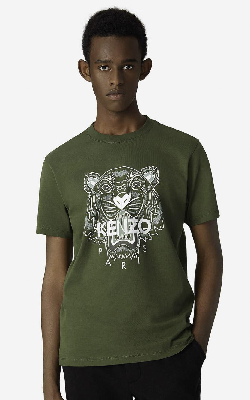KENZO Μπλούζα t-shirt 5TS0204YA-51 ΧΑΚΙ