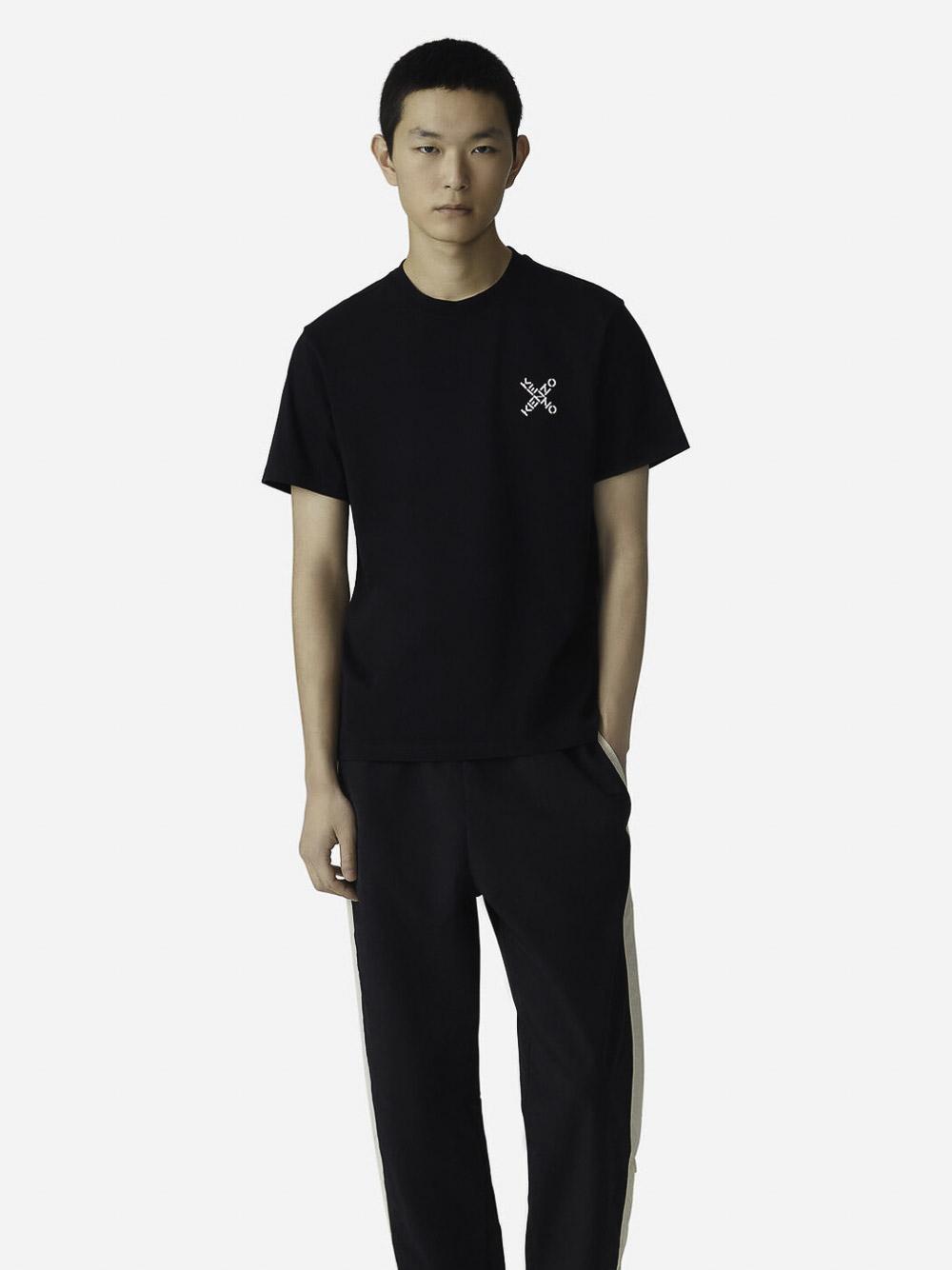 KENZO Μπλούζα t-shirt 5TS0014SJ-99 ΜΑΥΡΟ