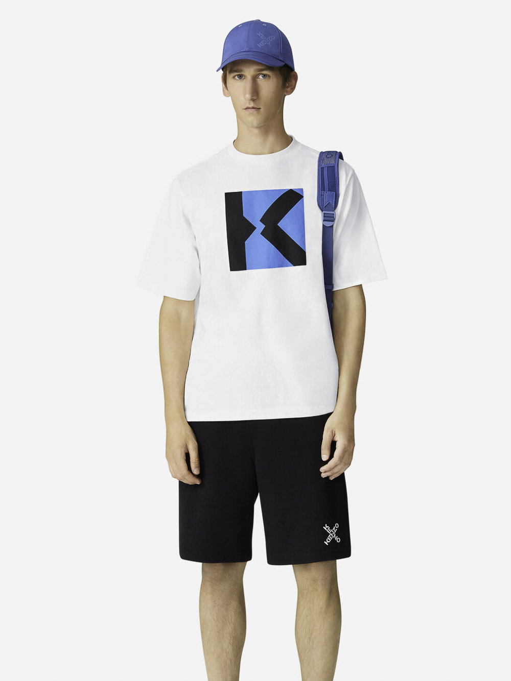 KENZO Μπλούζα t-shirt 5TS5014SJ-01B ΛΕΥΚΟ