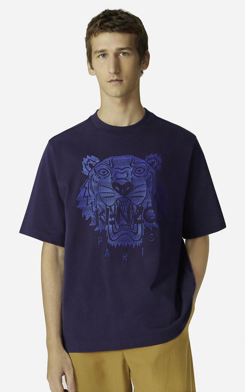 KENZO Μπλούζα t-shirt 5TS0694YP-76 ΜΠΛΕ