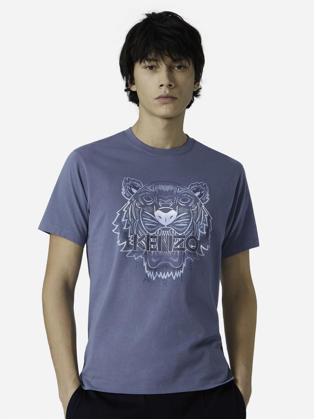 KENZO Μπλούζα t-shirt 5TS0264YG-67 ΜΠΛΕ