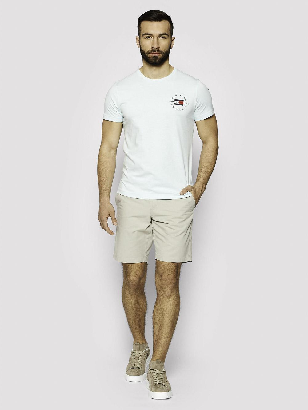 TOMMY HILFIGER Μπλούζα t-shirt MW0MW17680 ΠΡΑΣΙΝΟ