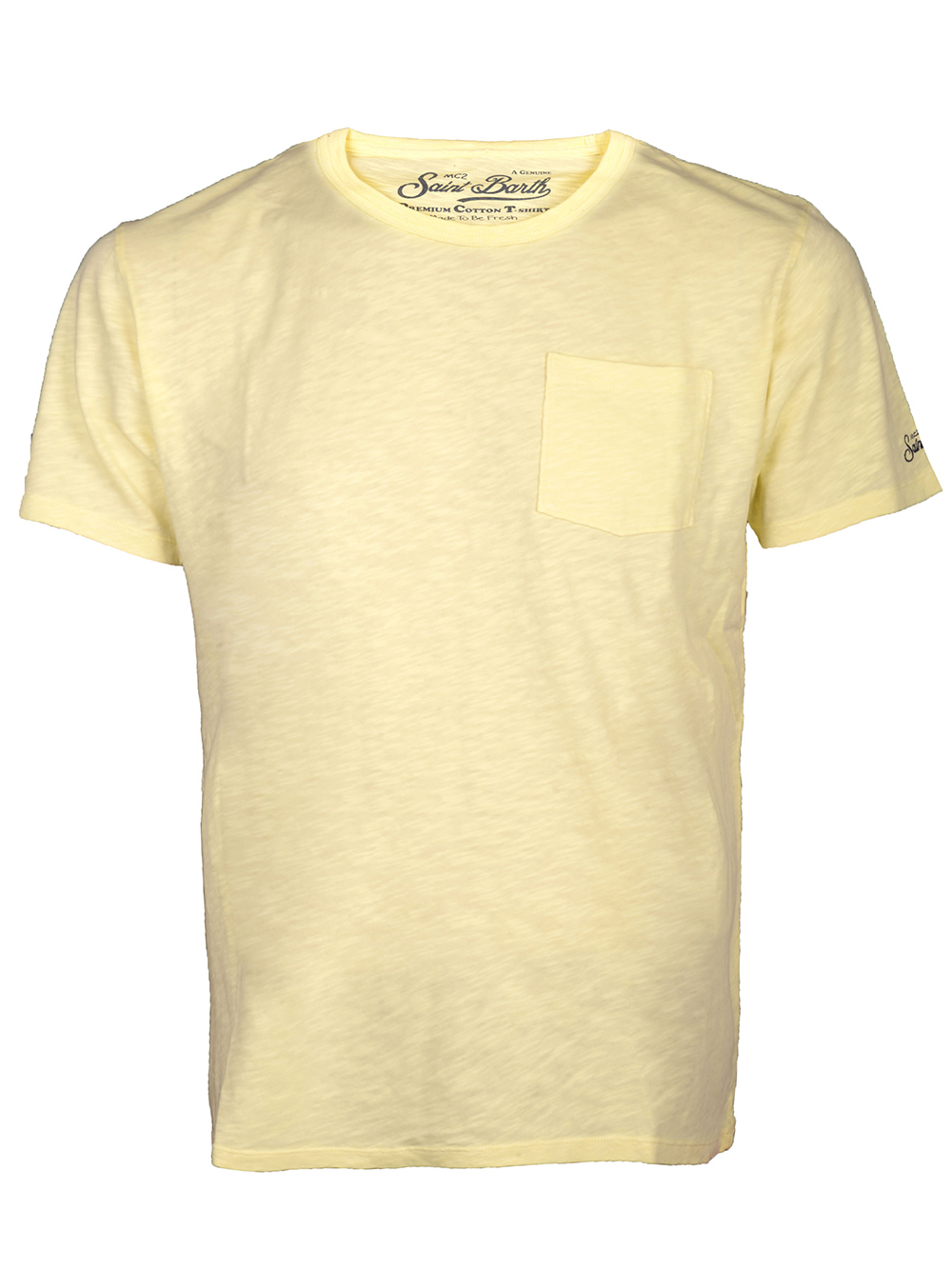 Mc2 St.BarthSALT WATER Μπλούζα t-shirt PRE0001 ΚΙΤΡΙΝΟ