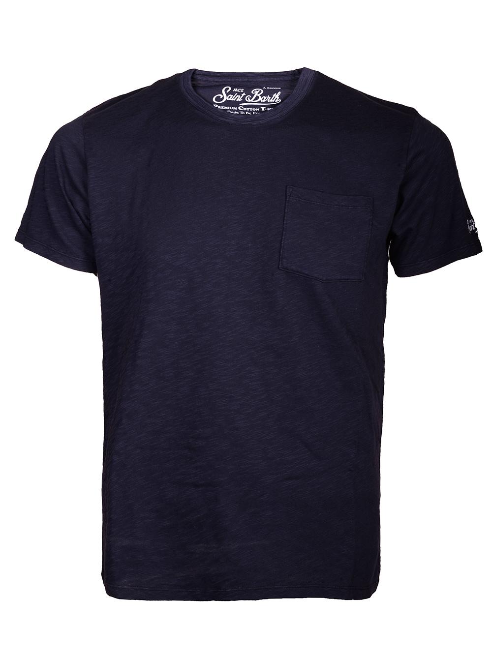 Mc2 St.BarthSALT WATER Μπλούζα t-shirt PRE0001 ΜΠΛΕ