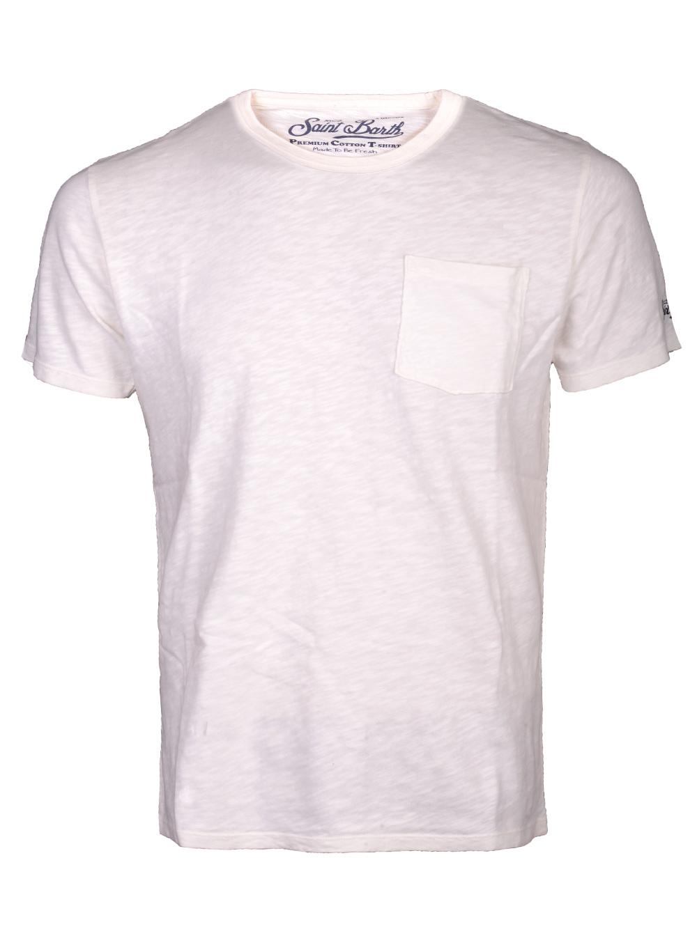 Mc2 St.BarthSALT WATER Μπλούζα t-shirt PRE0001 ΕΚΡΟΥ