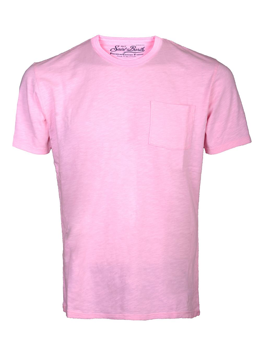 Mc2 St.BarthSALT WATER Μπλούζα t-shirt PRE0001 ΡΟΖ
