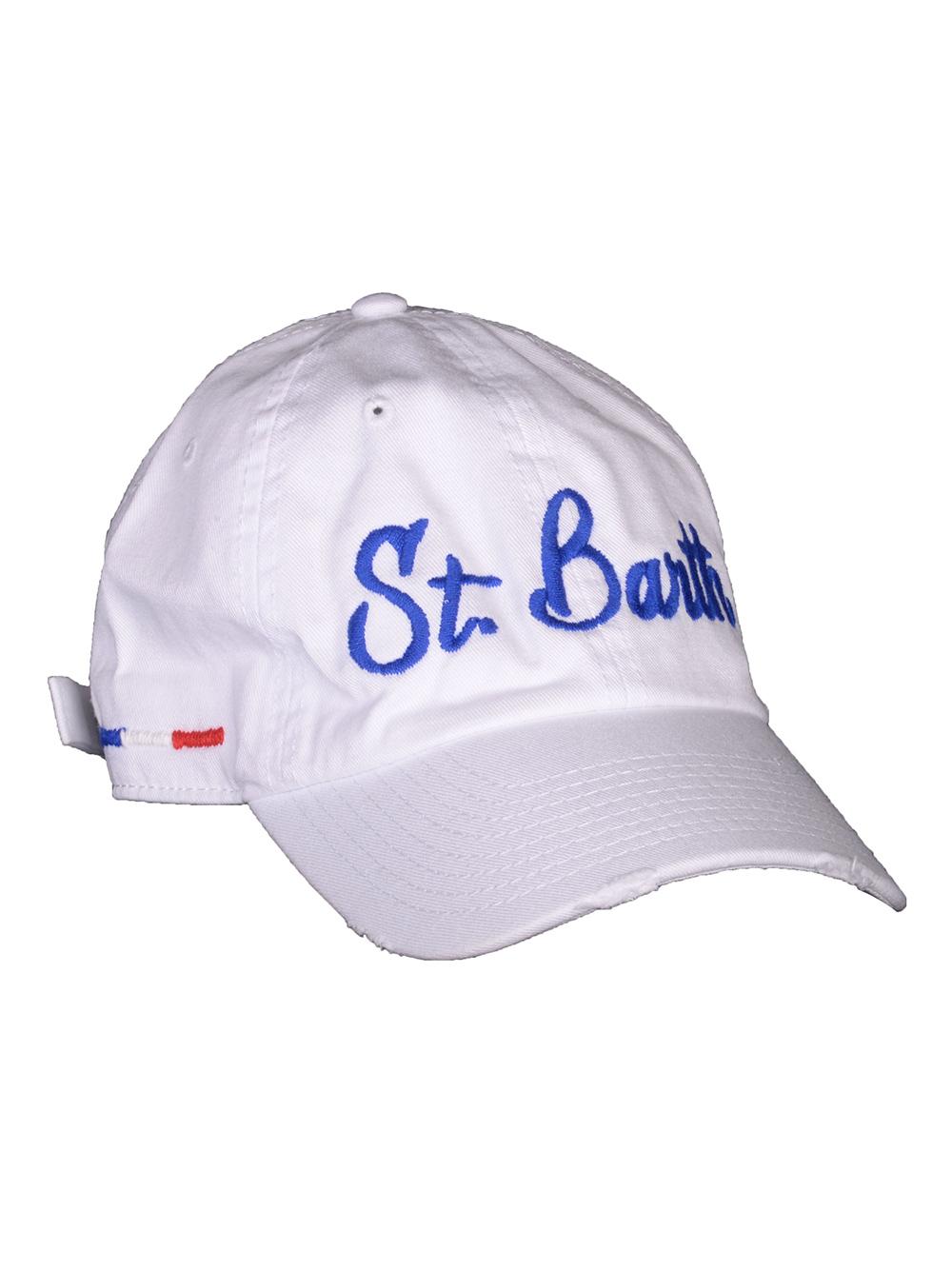 Mc2 St.BarthSALT WATER Καπέλο jockey ROBE001 ΛΕΥΚΟ