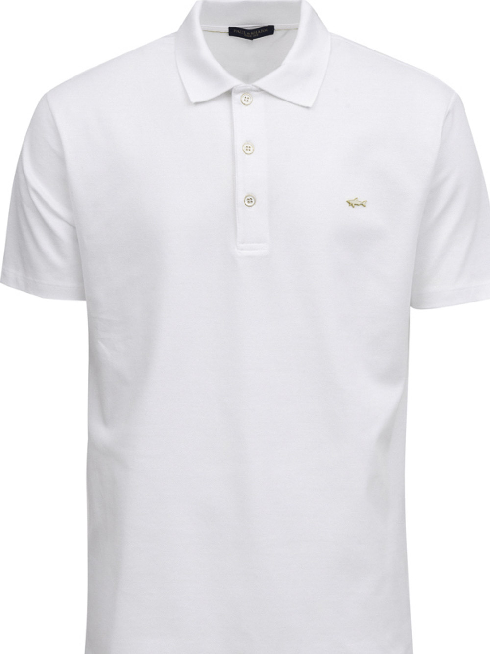 PAUL & SHARK Μπλούζα Polo 21411245-010 ΛΕΥΚΟ
