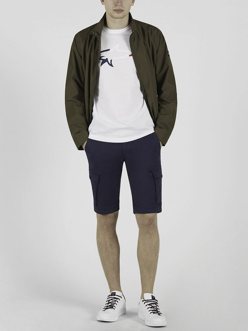 PAUL & SHARK Μπλούζα T-Shirt 21411040-010 ΛΕΥΚΟ