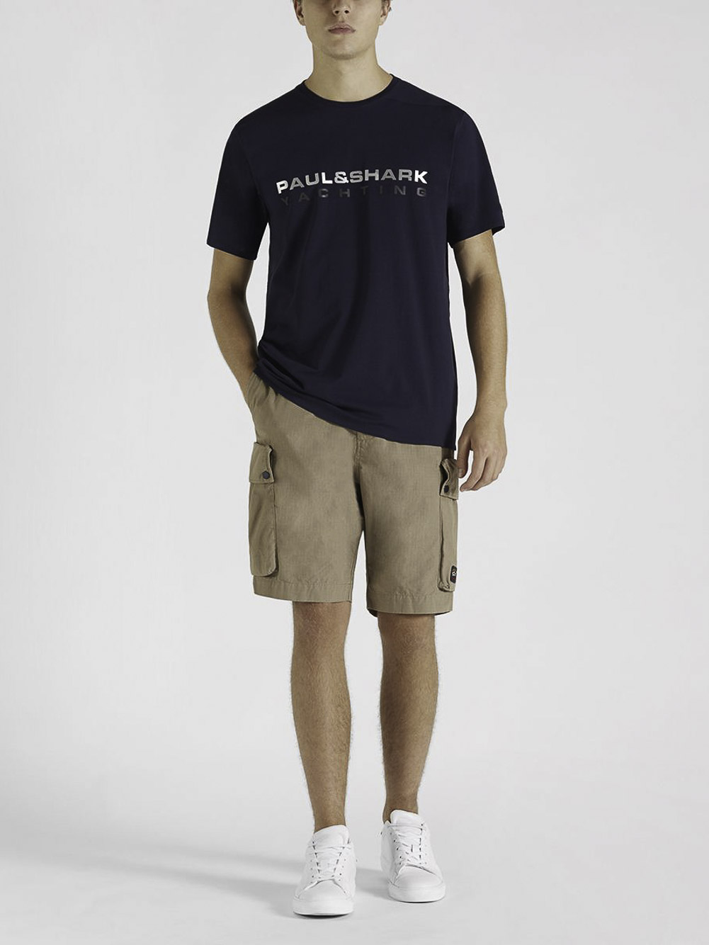 PAUL & SHARK Μπλούζα T-Shirt 21411020 ΜΠΛΕ
