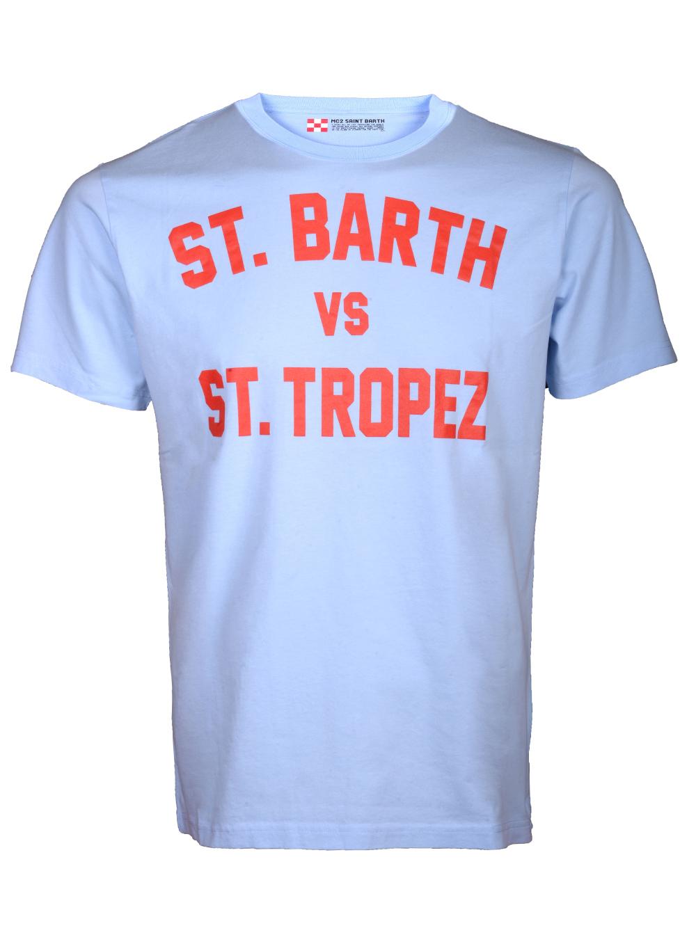 Mc2 St.BarthSALT WATER Μπλούζα t-shirt TSHIRT MAN ΛΕΥΚΟ