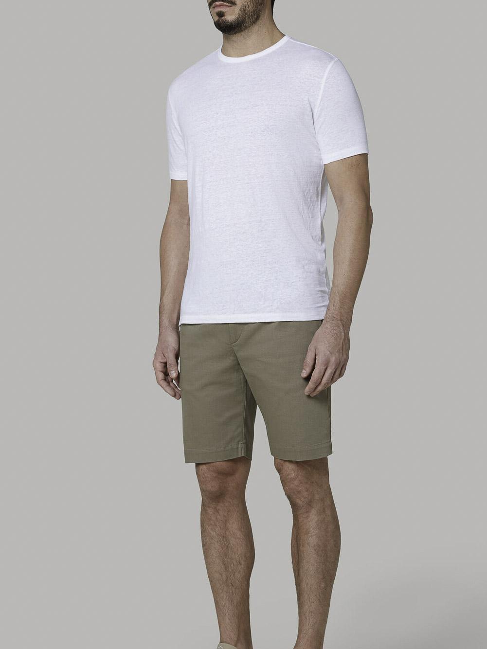 BOGGI Μπλούζα Τ-shirt B021P059401 ΛΕΥΚΟ
