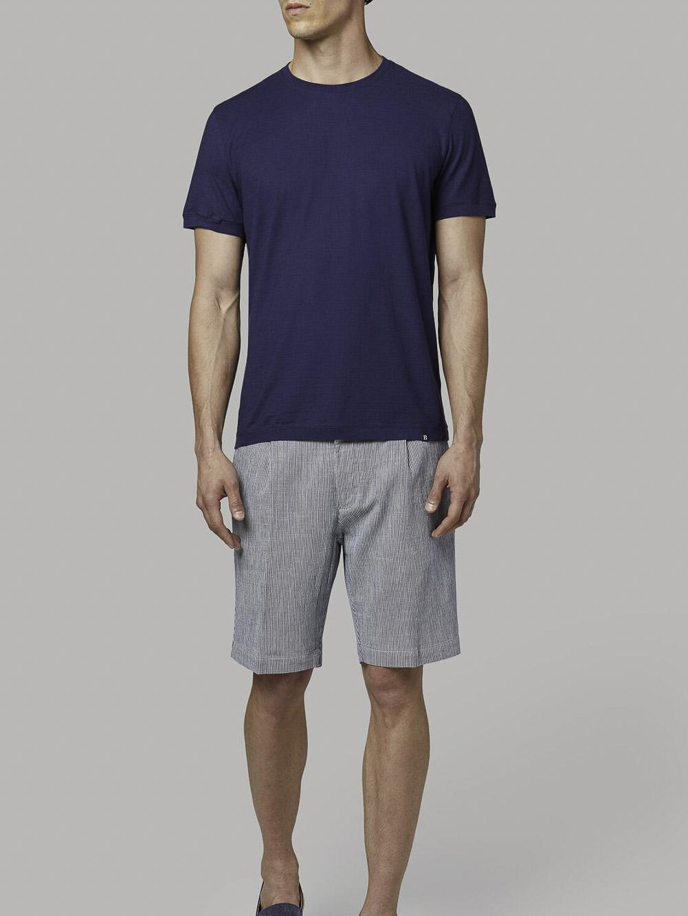 BOGGI Μπλούζα Τ-shirt B021P022702 ΜΠΛΕ