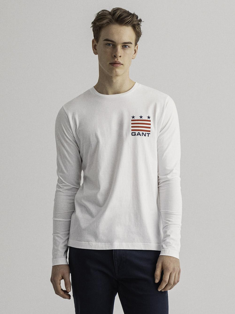 GANT Μπλούζα t-shirt 3G2004029-110 ΛΕΥΚΟ