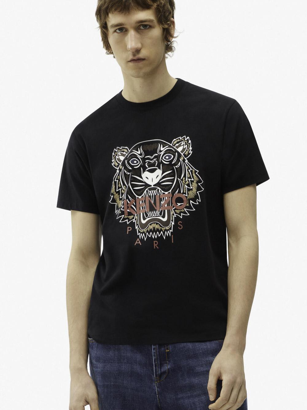 KENZO Μπλούζα t-shirt 5TS0204YA-99 ΜΑΥΡΟ
